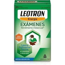 Leotron Exámenes 20 Sobres Bucodispensables Sabor Naranja