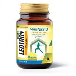 Leotron Magnesio Triple Accion 60 Comprimidos