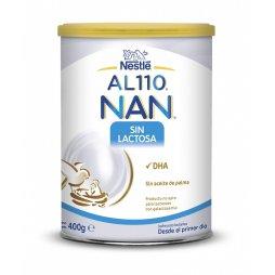 Nestle Nan AL110 Sin Lactosa 400gr