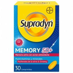 Supradyn Memoria 50+30 Comprimidos con Ginseng