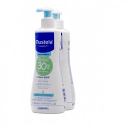 Mustela Dúo Hydra Bebé 500ml 2ª ud 30%