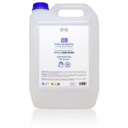 Gel Hidroalcoholico Con Aloe Vera 5 L Sys