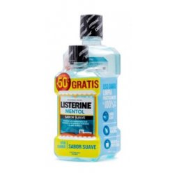Listerine Zero Menta Suave 500ml+250ml