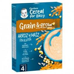 Gerber Arroz y maíz sin gluten 250gr