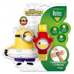 Relec Pulsera Antimosquitos Minions Roja