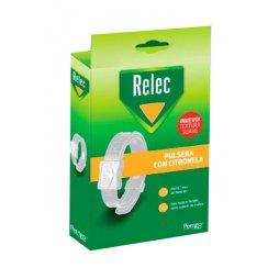 Relec Pulsera Antimosquitos Adulto Blanca 2021
