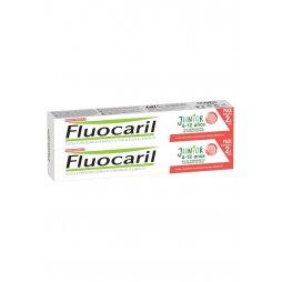 Fluocaril Junior Gel Frutos Rojos 2x75ml