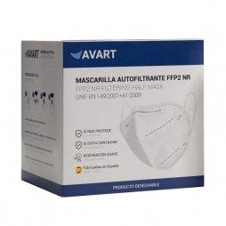 Mascarilla FFP2 NR Española Burdeos 30ud