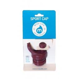 Mizu Sport Cap Burgundy