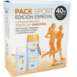 Fotoprotector Isdin Pack Sport Edición Especial 100ml+ 50ml