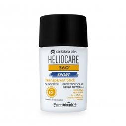 Heliocare 360 Sport Stick Transparente SPF50
