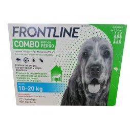 Frontline Combo Perros 6 Pipetas 10-20 Kg