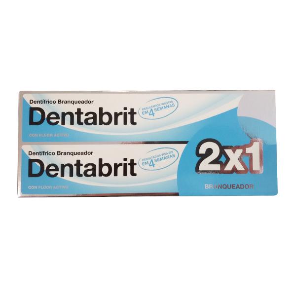 Dentabrit Dentrifico Blanqueador 2x1 100ml