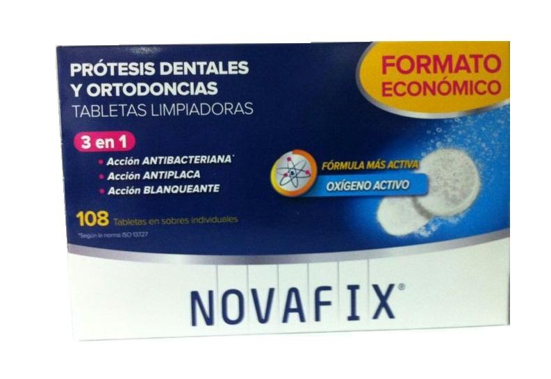 Novafix Tabletas Limpiadoras