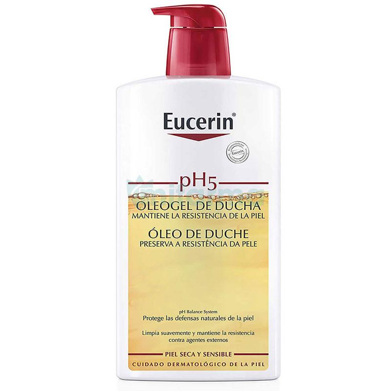 Eucerin Oleogel Ducha 1 L.+Ecopack