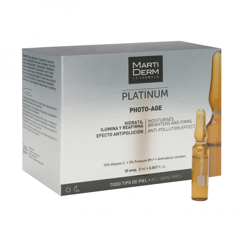 Martiderm Photo-Age 30 ampollas + Alfa Peeling 10 ampollas al 50%
