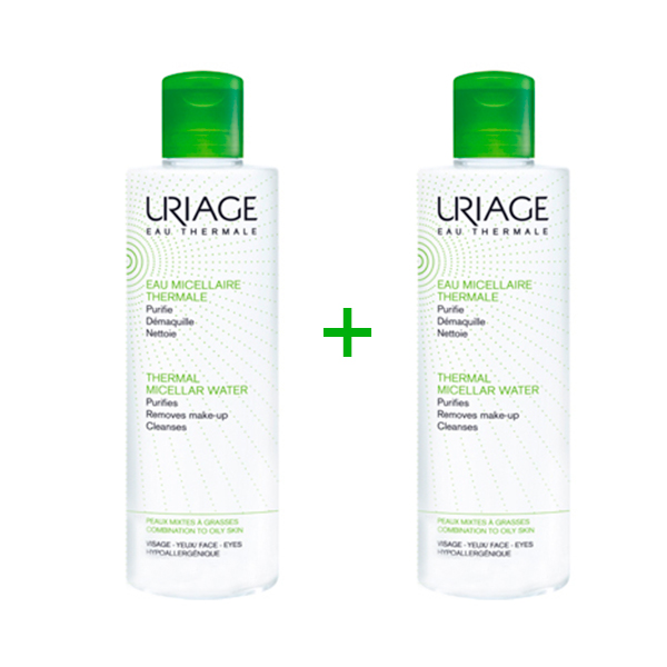Uriage Agua Micelar Piel Mixtas /Grasas Pack 2X500ml