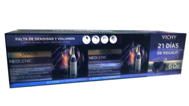Vichy Dercos Neogenic Duplo 2 Meses+21 Ampollas de regalo