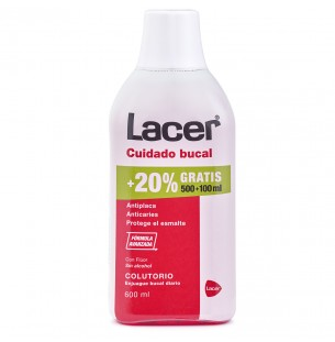 Lacer Colutorio 500ml+Gel 35ml