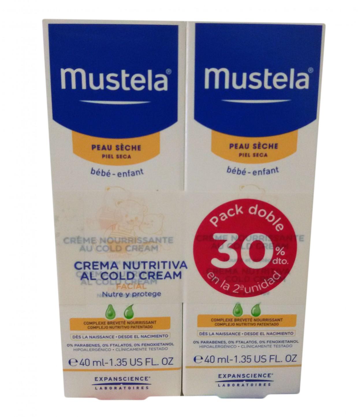 Mustela Duplo Cold Cream Facial 40ml