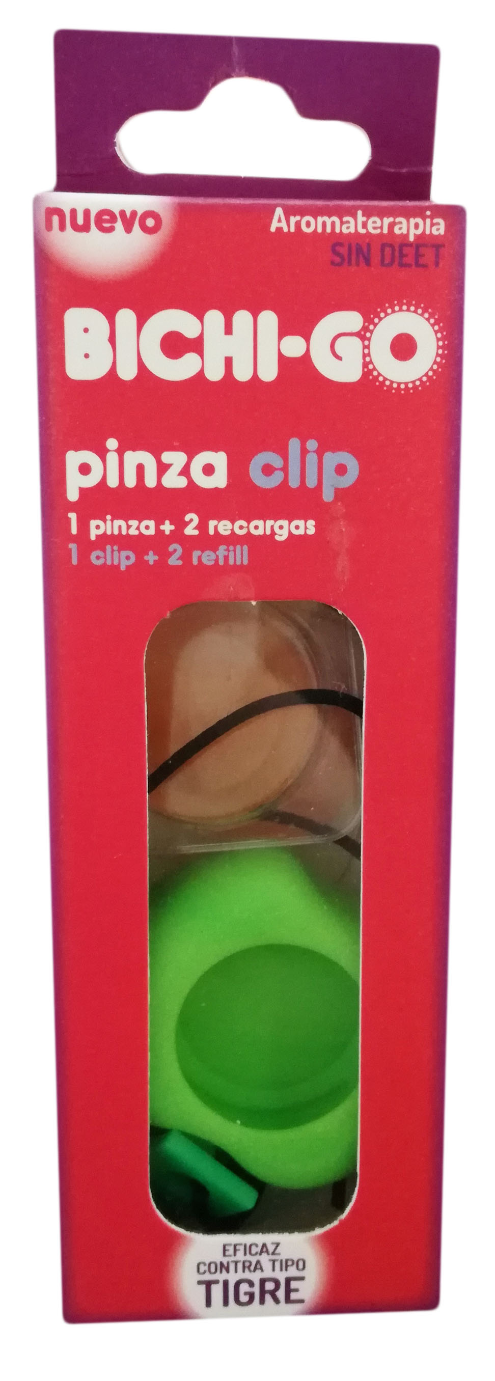 Pinza Clip Bichigo + 2 Recargas