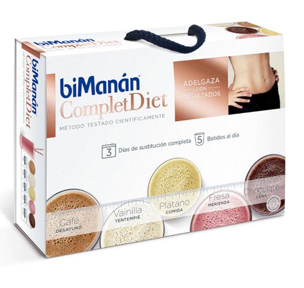 Bimanan Complet Diet 3 Dias Sustitucion