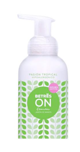 Jabón de manos Pasión Tropical Betres 250ml