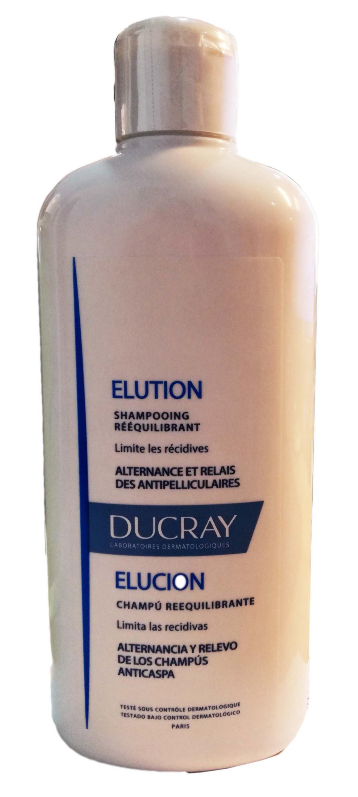 Ducray Champú Elution Reequilibrante 400ml